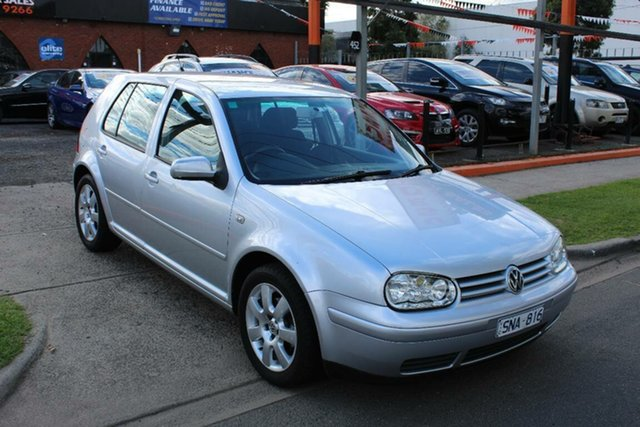 Used Volkswagen Golf  2.0 Sport, 2003 Volkswagen Golf 2.0 Sport Silver 5 Speed Manual Hatchback