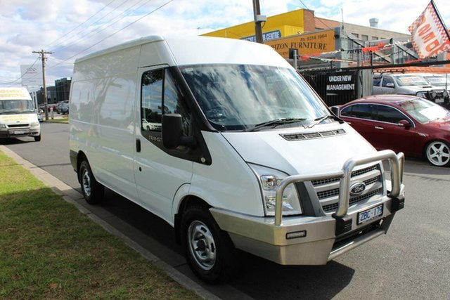 Used Ford Transit VM MY08 Mid (MWB), 2012 Ford Transit VM MY08 Mid (MWB) White 6 Speed Manual Van