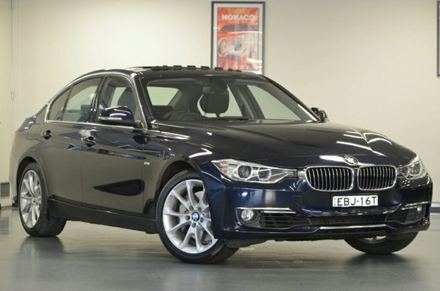 Used BMW 335i F30 , 2012 BMW 335i F30 Blue 8 Speed Sports Automatic Sedan
