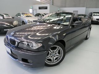 2006 BMW 325Ci E46 MY05 Steptronic Sparkling Graphite 5 Speed Sports Automatic Convertible.