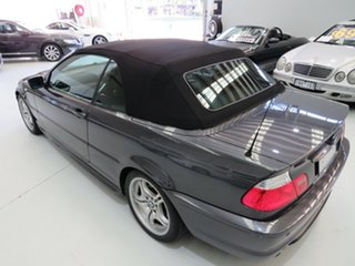 2006 BMW 3 Series E46 MY05 325Ci Steptronic Sparkling Graphite 5 Speed Sports Automatic Convertible