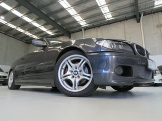 2006 BMW 3 Series E46 MY05 325Ci Steptronic Sparkling Graphite 5 Speed Sports Automatic Convertible.
