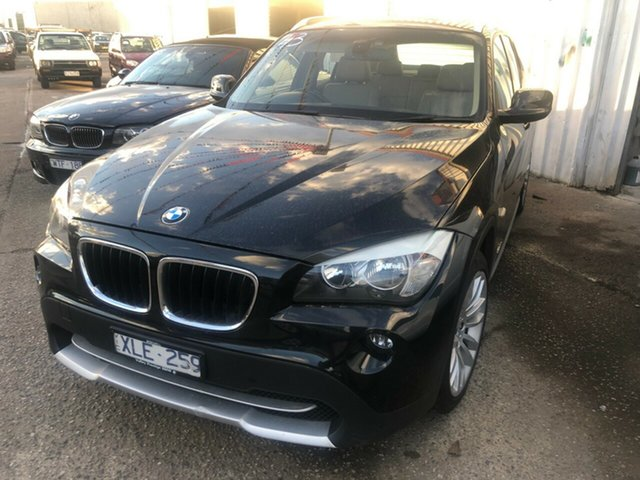 Used BMW X1 E84 xDrive 20D, 2010 BMW X1 E84 xDrive 20D Black 6 Speed Automatic Wagon