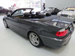 2006 BMW 325Ci E46 MY05 Steptronic Sparkling Graphite 5 Speed Sports Automatic Convertible