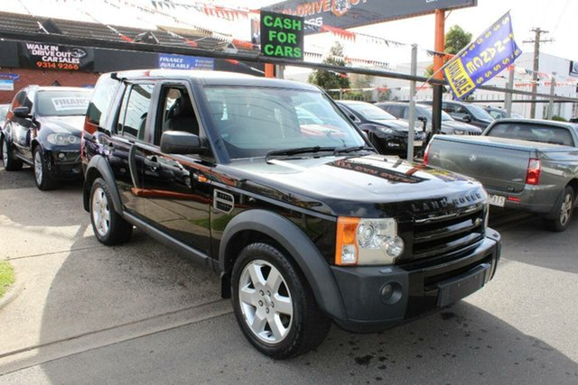 Used Land Rover Discovery 3  HSE, 2005 Land Rover Discovery 3 HSE Black 6 Speed Automatic Wagon