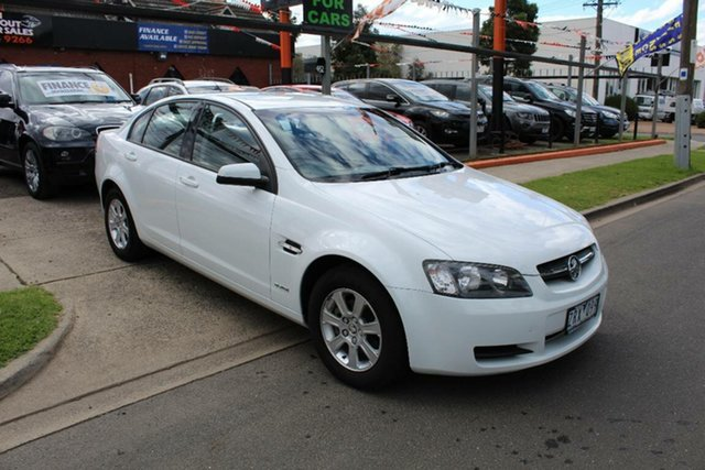 Used Holden Commodore VE MY10 Omega, 2009 Holden Commodore VE MY10 Omega White 6 Speed Automatic Sedan