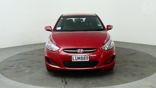 2018 Hyundai Accent 1.6 Red 4 Speed Automatic Hatchback.