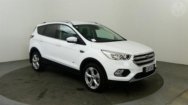 Used Ford Escape  , 2018 Ford Escape Trend AWD White 6 Speed Automatic Wagon