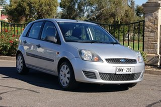 2007 Ford Fiesta WQ LX Silver 4 Speed Automatic Hatchback.