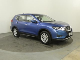 2018 Nissan X-Trail ST Blue Continuous Variable Transmission Wagon.