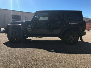 2014 Jeep Wrangler JK MY2014 Unlimited Sport Black 5 Speed Automatic Softtop