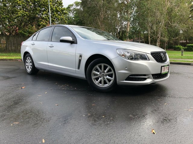 Used Holden Commodore VF MY15 Evoke, 2015 Holden Commodore VF MY15 Evoke Silver 6 Speed Sports Automatic Sedan