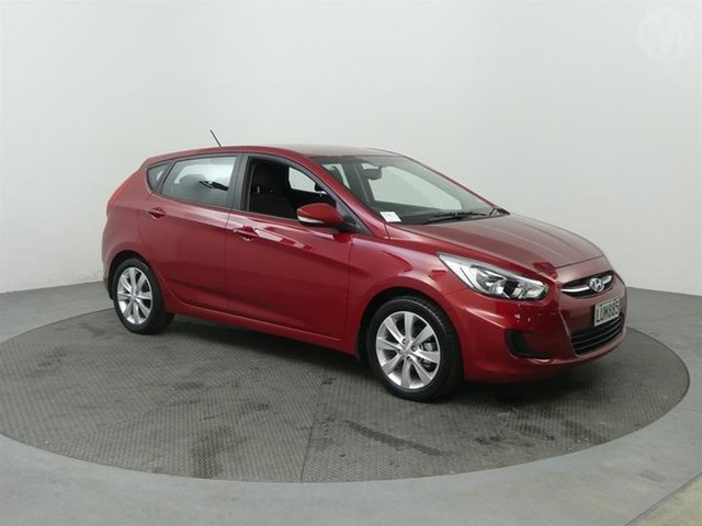 Used Hyundai Accent  , 2018 Hyundai Accent 1.6 Red 4 Speed Automatic Hatchback
