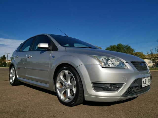 Used Ford Focus LS XR5 Turbo, 2006 Ford Focus LS XR5 Turbo Silver 6 Speed Manual Hatchback