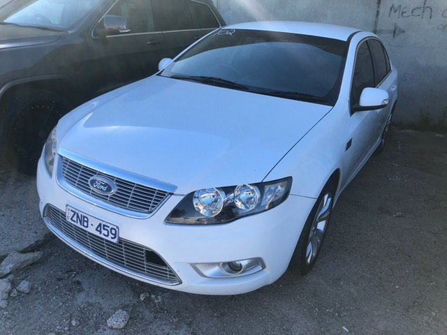 Used Ford Falcon FG G6E, 2010 Ford Falcon FG G6E White 6 Speed Automatic Sedan