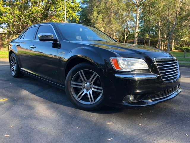 Used Chrysler 300 LX MY13 C, 2012 Chrysler 300 LX MY13 C Black 5 Speed Sports Automatic Sedan