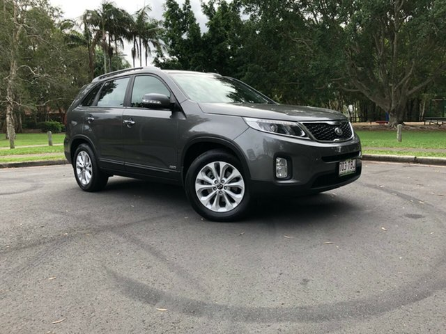 Used Kia Sorento XM MY13 SLi 4WD, 2013 Kia Sorento XM MY13 SLi 4WD Grey 6 Speed Sports Automatic Wagon