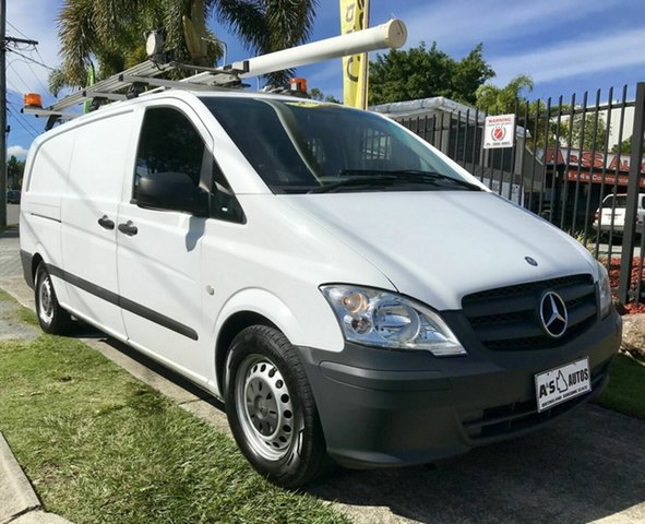 Used Mercedes-Benz Vito  113CDI LWB, 2013 Mercedes-Benz Vito 639MY11 113CDI LWB White Automatic Van