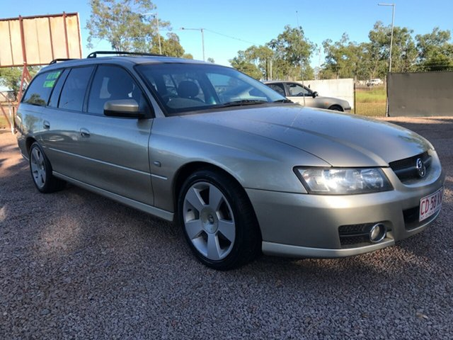 Used Holden Commodore VZ@VE SVZ, 2007 Holden Commodore VZ@VE SVZ Gold 4 Speed Automatic Wagon
