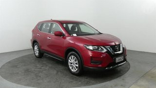 2018 Nissan X-Trail ST Red Continuous Variable Transmission Wagon.