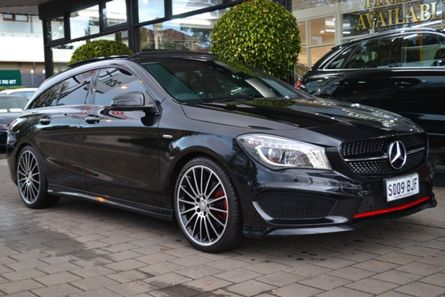Used Mercedes-Benz CLA250 X117 806MY Sport Shooting Brake DCT 4MATIC, 2015 Mercedes-Benz CLA250 X117 806MY Sport Shooting Brake DCT 4MATIC Black 7 Speed