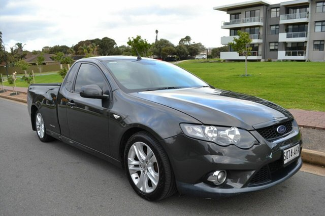 Used Ford Falcon FG XR6 Super Cab, 2010 Ford Falcon FG XR6 Super Cab Grey 6 Speed Sports Automatic Cab Chassis