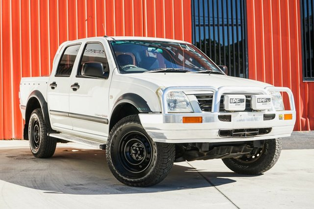 Used Holden Rodeo RA LX Crew Cab, 2004 Holden Rodeo RA LX Crew Cab White 4 Speed Automatic Utility
