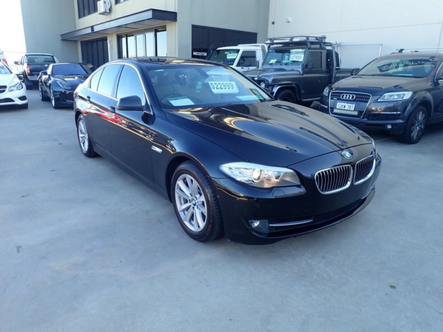 Used BMW 520d F10 MY12 , 2011 BMW 520d F10 MY12 Black Magic 8 Speed Automatic Sedan