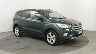 2018 Ford Escape Trend AWD Green 6 Speed Automatic Wagon.