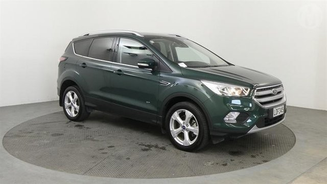 Used Ford Escape  , 2018 Ford Escape Trend AWD Green 6 Speed Automatic Wagon