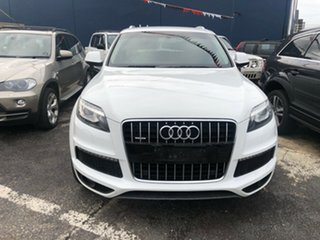 2012 Audi Q7 MY12 3.0 TDI Quattro White 8 Speed Automatic Tiptronic Wagon.