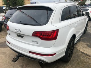 2012 Audi Q7 MY12 3.0 TDI Quattro White 8 Speed Automatic Tiptronic Wagon