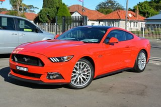2016 Ford Mustang FM 2017MY GT Fastback Red 6 Speed Manual Fastback.