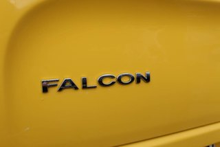 2006 Ford Falcon BF XR6T Yellow 6 Speed Manual Utility