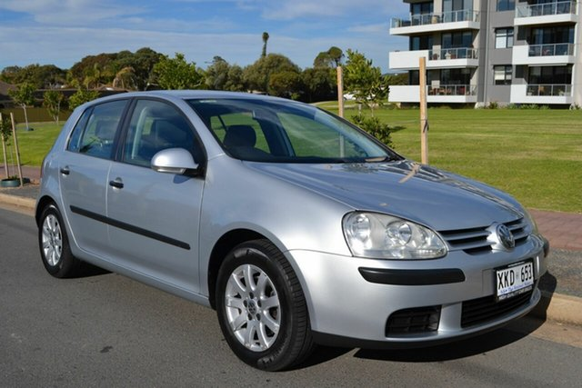 Used Volkswagen Golf V Comfortline Tiptronic, 2006 Volkswagen Golf V Comfortline Tiptronic Silver 6 Speed Sports Automatic Hatchback