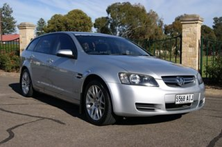 2010 Holden Commodore VE MY10 International Silver 6 Speed Automatic Sportswagon.