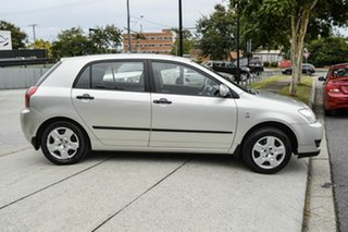 2006 Toyota Corolla ZZE122R 5Y Ascent Silver 4 Speed Automatic Hatchback.