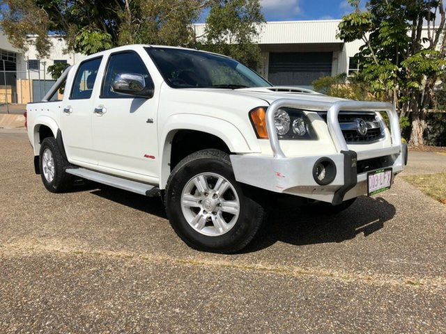 Used Holden Colorado RC LT-R Crew Cab, 2008 Holden Colorado RC LT-R Crew Cab White 5 Speed Manual Utility