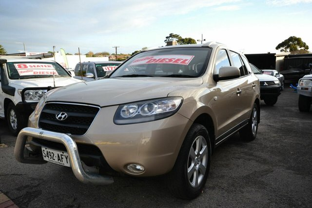 Used Hyundai Santa Fe CM MY07 Upgrade Elite CRDi (4x4), 2007 Hyundai Santa Fe CM MY07 Upgrade Elite CRDi (4x4) Gold 5 Speed Automatic Wagon