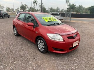 2008 Toyota Corolla Ascent Maroon 6 Speed Manual Hatchback
