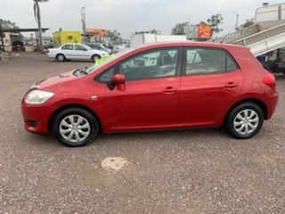 2008 Toyota Corolla Ascent Maroon 6 Speed Manual Hatchback.