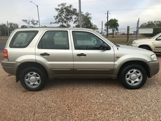2004 Ford Escape ZB XLS Gold 4 Speed Automatic Wagon.