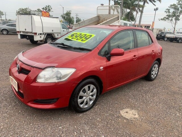 Used Toyota Corolla  Ascent, 2008 Toyota Corolla Ascent Maroon 6 Speed Manual Hatchback