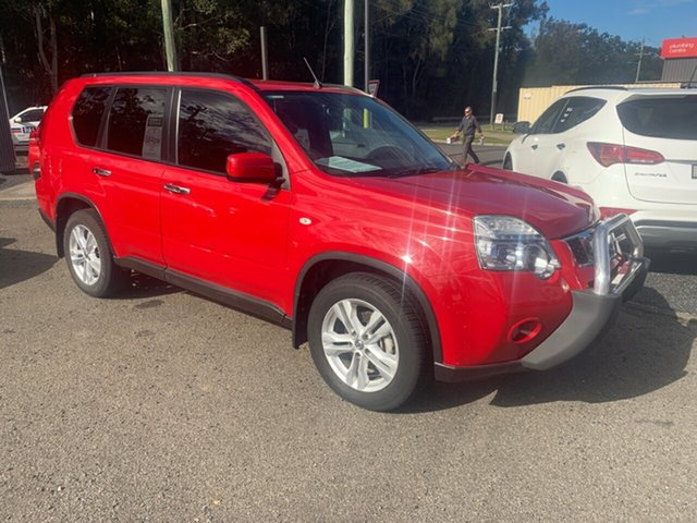 Used Nissan X-Trail  , 2011 Nissan X-Trail 4X4 T31 TS DCI Red 6 Speed Automatic Wagon
