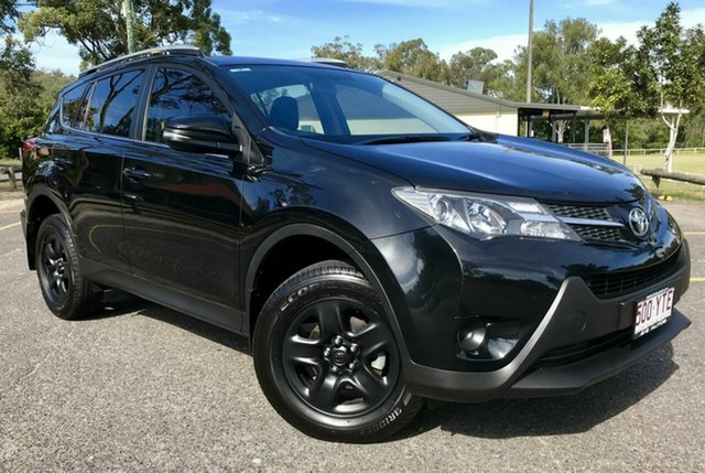 Used Toyota RAV4 ZSA42R MY14 Upgrade GX (2WD), 2014 Toyota RAV4 ZSA42R MY14 Upgrade GX (2WD) Black Continuous Variable Wagon