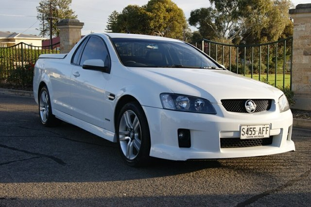 Used Holden Commodore VE MY09.5 SV6, 2009 Holden Commodore VE MY09.5 SV6 White 6 Speed Manual Utility