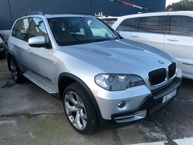 Used BMW X5 E70 MY09 xDrive 30d Executive, 2009 BMW X5 E70 MY09 xDrive 30d Executive Silver 6 Speed Auto Steptronic Wagon