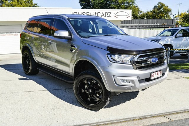 Used Ford Everest UA Trend 4WD, 2017 Ford Everest UA Trend 4WD Silver 6 Speed Sports Automatic Wagon
