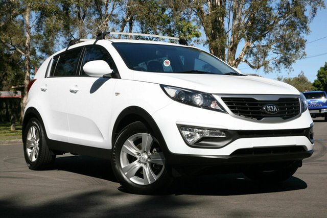 Used Kia Sportage SL MY14 Si 2WD, 2014 Kia Sportage SL MY14 Si 2WD White 6 Speed Sports Automatic Wagon
