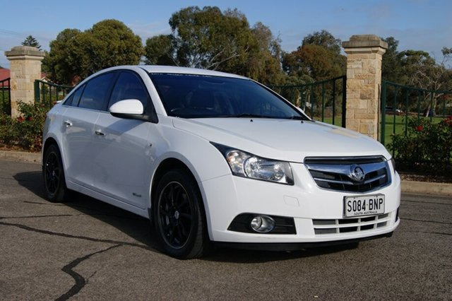 Used Holden Cruze JG CDX, 2010 Holden Cruze JG CDX White 6 Speed Automatic Sedan